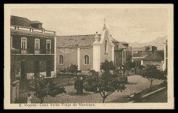 SÃO VICENTE -MUNICIPIOS - Praça Do Municipio ( Ed. Pavilhão Africano) Carte Postale - Cap Vert