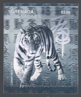 Grenada Grenadines - 1998 Year Of The Tiger Block MNH__(TH-17682) - Grenada (1974-...)