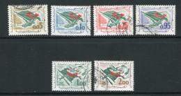 Algérie Y&T N°369 à 374 Oblitérés - Algeria (1962-...)