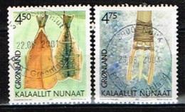 GROENLAND /Oblitérés/Used/2001 - Patrimoine Culturel - Groenland
