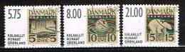 GROENLAND /Oblitérés/Used /2001 - Projet De Timbres Non émis - Groenland