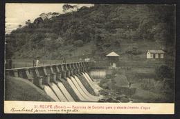 RECIFE (Brazil) - Represas De Gurjahu Para O Abastecimento D'agua - Recife