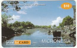 MICRONESIA - Pohnpei, FSM Tel Prepaid Card $10, Used - Micronesia