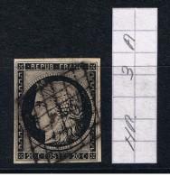France Nr. 3A / Mi. Cote 55 Euro! - 1849-1850 Cérès