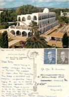 Hotel Fourati, Hammamet, Tunisia Postcard Posted 1968 Stamp - Tunisia