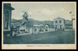SÃO VICENTE - Esplanada  -  Carte Postale - Cap Vert