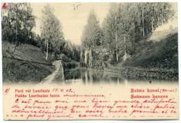 XFIN.4.  Saima Kanal - Parti Vid Lauritsala - 1902 - Finlandia