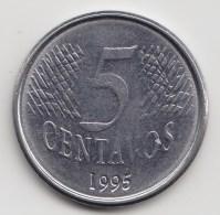 @Y@    Brazilië  5 Centavos  1995    (3501) - Brésil