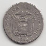 @Y@    Ecuador  10  Centavos  1946    (3500)
