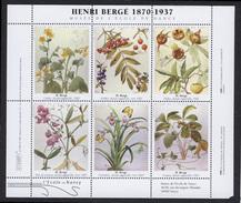 Bloc De 6 Vignettes Botanique - Blocs & Carnets