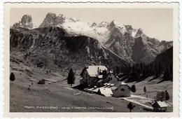 PRATO PIAZZA - VERSO IL MONTE CRISTALLO - BRAIES - BOLZANO - 1937 - Vedi Retro - Formato Piccolo - Bolzano (Bozen)