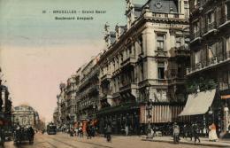 BELGIQUE - BRUXELLES - Grand Bazar - Boulevard Anspach (n°19). - Avenues, Boulevards