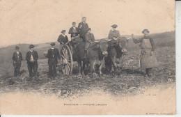 EYMOUTIERS - Attelage Limousin ( ETAT )  PRIX FIXE - Eymoutiers