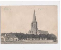 Klemskerke - Clemskerke - De Kerk En Omgeving - Geen Uitgever Vermeld - Gelopen - De Haan