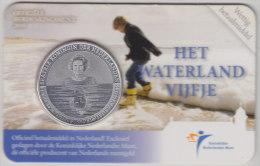 @Y@   Vijf Euro Coincard  Waterland   2010 - Pays-Bas