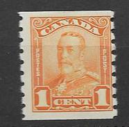 1928 MH Canada From Coil - 1911-1935 Reign Of George V