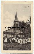 Rheinische Missionsarbeit Auf Neu-Guinea, Missionskirche Der Gemeinde In Ragetta, Papua Neuguinea, CPA 1928 - Papua-Neuguinea