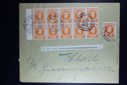 Cover Antwerp To Berlin Changed Address  OPB  190 In Part Sheets  Front And Back 35 In Total - België