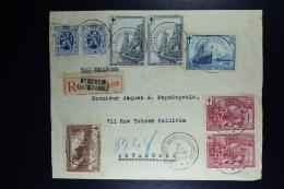 Belgium Registered Cover Berchem Antwerp To Instanbul 1929, OPB  285, 293, 294, 296, 297