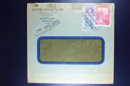 Belgium Express Cover Brussels  1933, OPB  292D +