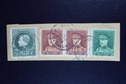 Belgium Part Cover  1934 , OPB 290  321 + 323