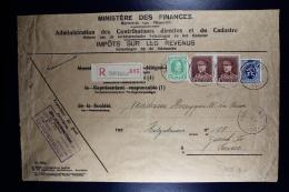 Belgium Registered Cover Campenhout Ministere Des Finances To Zürich  , OPB 209 321