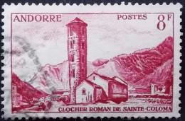 ANDORRE Y&T N° 143 (o) Clocher Roman De Sainte Coloma