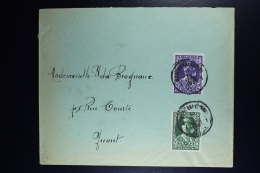 Belgium  Cover Marchienne Au Pont To Jumet Send 30-XI-1931  One Day BEFORE Official Issue !!!! OPB 327 - 328 - België