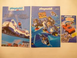 PLAYMOBIL : LOT DE 3 CATALOGUES - 1998 Et 2000 - Voir Les Scans - Playmobil