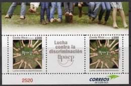 COSTA RICA 2013. América UPAEP: Lutte Contre La Discrimination (bloc)