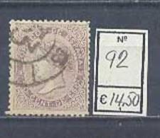 Año 1867  Isabel II Nº 92 - Usati