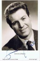 ZXA, Erwin Strahl 1929-2011, Schauspieler, Autogramm - Autographs