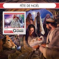 GUINEA 2016 - Christmas, Donkey S/S. Official Issue