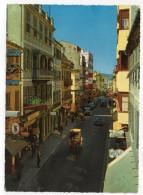 GIBRALTAR--Main Street--Calle Mayor (animée,attelage,publicités Agfa,Singer)  Cpsm 15 X 10 N° 988/8  éd Kruger - Gibilterra