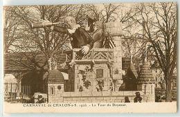 13229 - CHALON SUR SAONE - CARNAVAL DE / 1916 / LA TOUR DU DOYENNE - Chalon Sur Saone