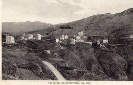 Genova - Scoffera  (Un Saluto Da...)  : Panorama - Cartolina Piccolo Formato - Genova (Genoa)