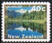 New Zealand SG1988 1996 Definitive 40c Good/fine Used [24/21472/4D] - Oblitérés
