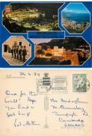 Multiview, Monaco Postcard Posted 1984 Stamp - Monaco