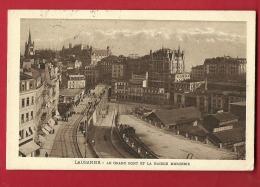 FIV-23 Lausanne  Grand-Pont Et Maison Mercier. Cachet 1915 - VD Vaud