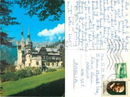 Sinaia, Romania Postcard Posted 1974 Stamp - Romania