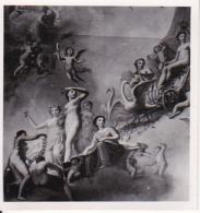 Foto Deckengemälde Im Pavillon V. Schlossteich - Dt. Maler - Schloss Gatschina - Russland - Juni 1943- 5,5*5,5cm (25586) - Orte