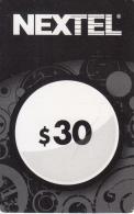 ARGENTINA - Nextel Prepaid Card $30, Exp.date 31/12/13, Used - Argentina