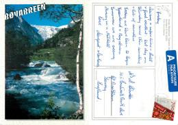 Boyabreen, Norway Postcard Posted 2001 Stamp - Norway