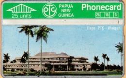 Papua New Guinea - PNG-10a, Haus Ptc - Waigani, CN:311D, 25 Units, 8.000ex, 1992, Used As Scan - Papua New Guinea