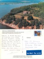 Beinn Bhreagh, Cape Breton Island, Nova Scotia, Canada Postcard Posted 2002 Stamp - Cape Breton