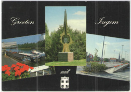 BELGIO - BELGIE - BELGIQUE - 1990 - 14F - Groeten Uit Izegem - Viaggiata Da Izegem Per Argenteau, Belgie - Izegem