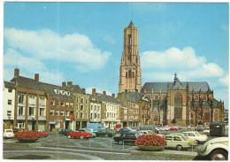 OLANDA - NEDERLAND - Paesi Bassi - ARNHEM - Grote Markt Met Grote Kerk - Old Cars - Not Used - Arnhem