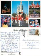Parade, DisneyLand, California, United States US Postcard Posted 1989 Stamp - Disneyland