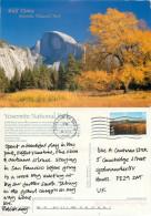 Yosemite National Park, California, United States US Postcard Posted 2001 Stamp - Yosemite