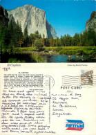 El Capitan, Yosemite National Park, California, United States US Postcard Posted 1979 Stamp - Yosemite